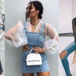 ντυσίματα με ρούχα με διαφάνειες