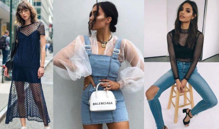 Πως να συνδυάσεις τα see-through ρούχα στα outfits σου!