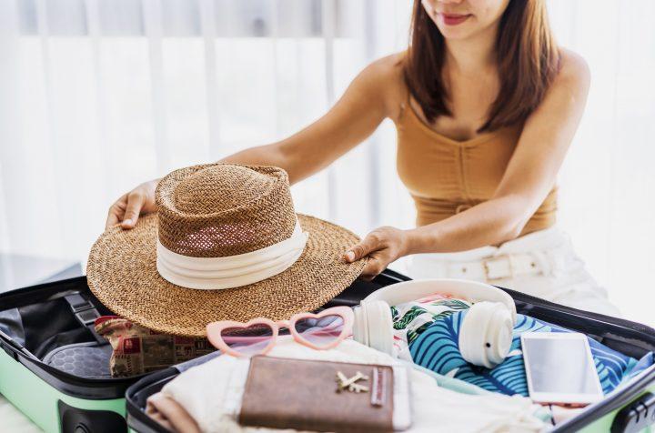 5 Βήματα για να πακετάρεις σε πολύ μικρή βαλίτσα!
