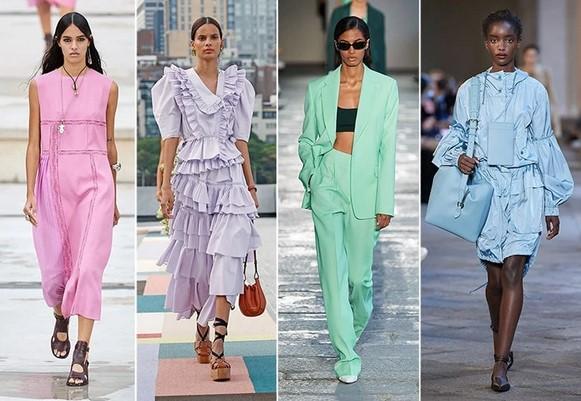 παστελ χρώματα στα ρούχα καλοκαίρι 2021