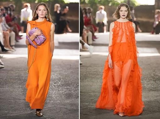 πορτοκαλί χρώματα ρούχα 2021