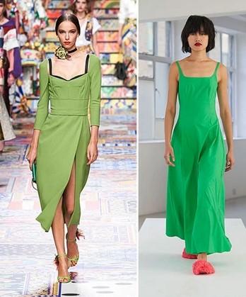 πράσινο χρώματα ρούχα 2021