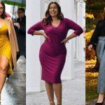ρούχα που κολακεύουν τις γυναίκες με καμπύλες