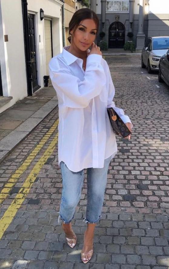 σικ ντύσιμο με πουκάμισο