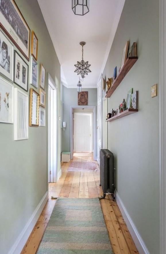 στενός διάδρομος στο σπίτι