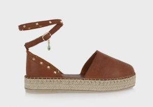 παπούτσια καλοκαιρινά χαμηλή πλατφόρμα