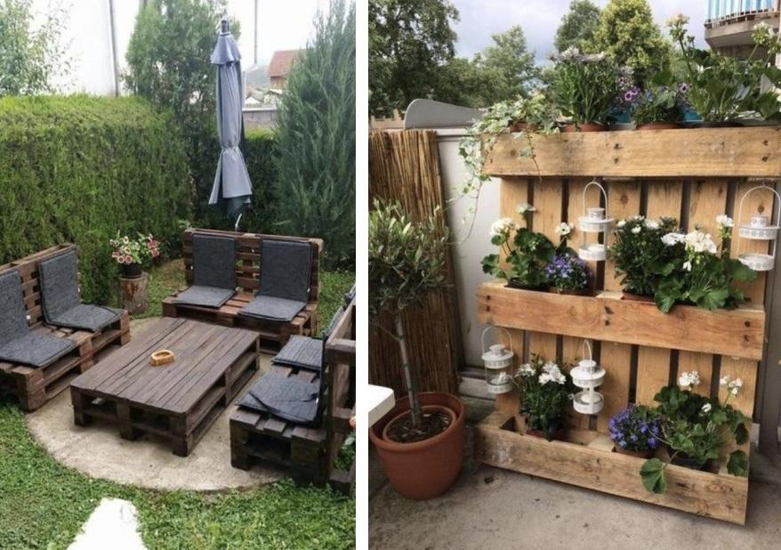 ξύλινες κατασκευές για κήπο