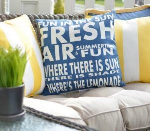 μαξιλάρια καλοκαιρινά για σπίτι διακόσμηση