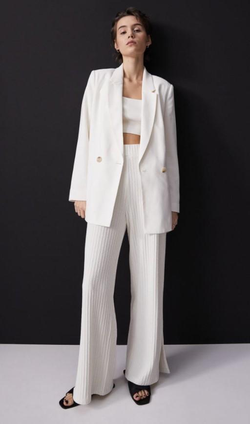 ασπρο λευκο σακακι