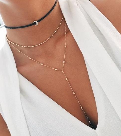 μοντέρνα κοσμήματα κολιέ