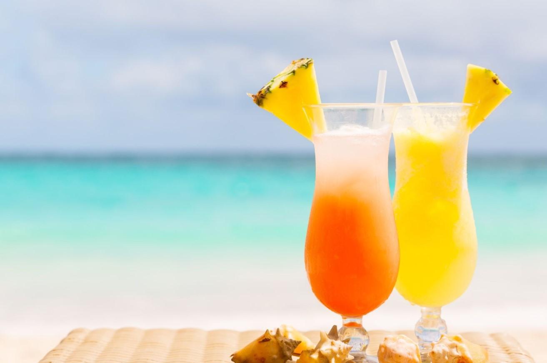 coctail για τη παραλία