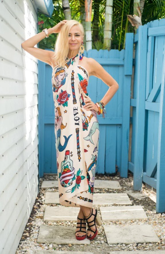 diy φόρεμα