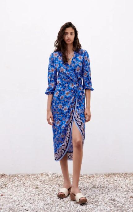 λουλουδατο φόρεμα αέρινα κομψά καλοκαιρινά ρούχα που ξεχωρίσαμε