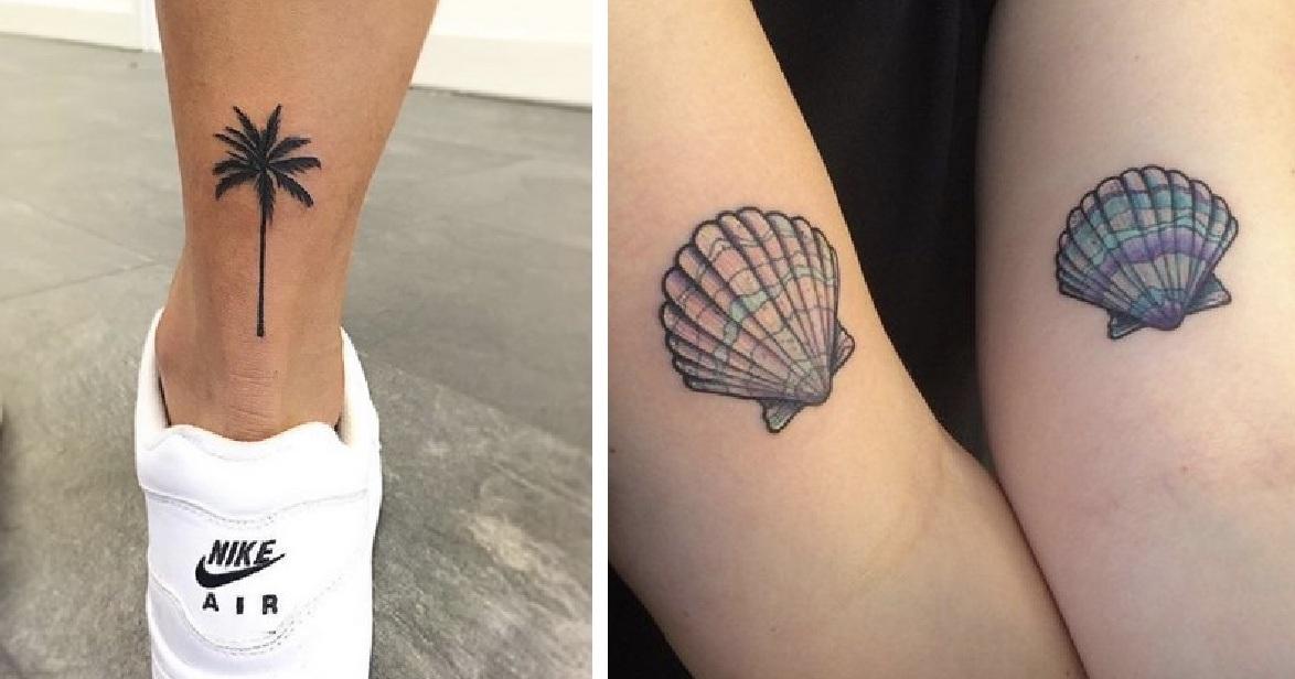 γυναικεία καλοκαιρινά τατουάζ