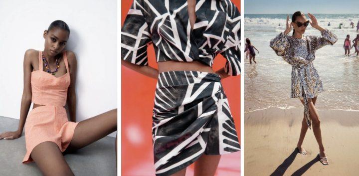 Κομψά καλοκαιρινά ρούχα Zara 2021