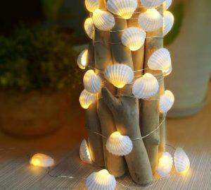λεντ με κοχυλια 8 Ιδέες για διακοσμητικά από κοχύλια
