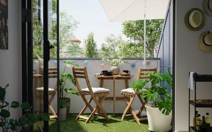 Προτάσεις για ένα όμορφο μπαλκόνι στην πόλη από τα ΙΚΕΑ