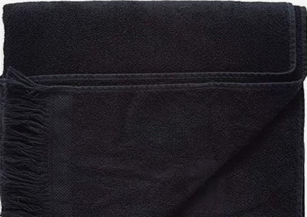 μονόχρωμες πετσέτες θαλάσσης
