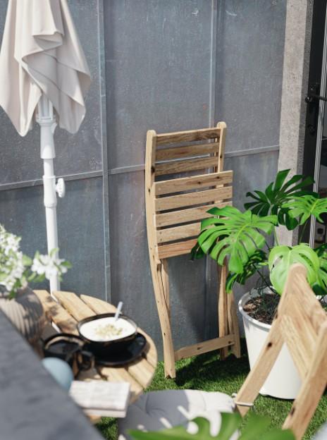 πτυσσόμενη καρέκλα μπαλκονιού
