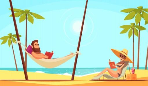 4 Best Seller βιβλία για χαλάρωση στην παραλία!