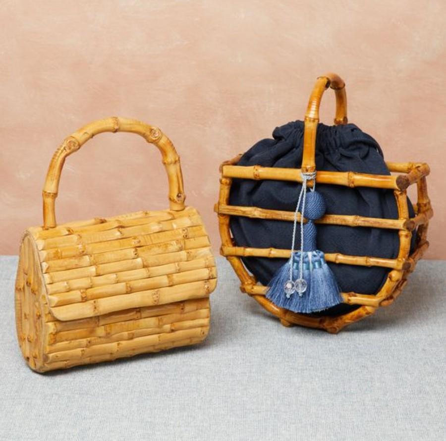 τσάντα από bamboo