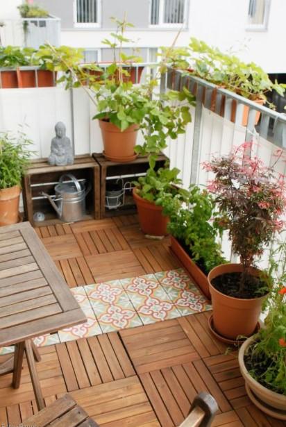 βεράντα γλάστρες φυτά