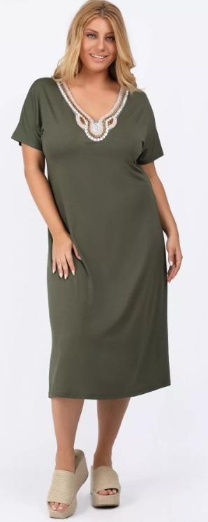 καλοκαιρινά φορέματα μεγάλα μεγέθη 2021