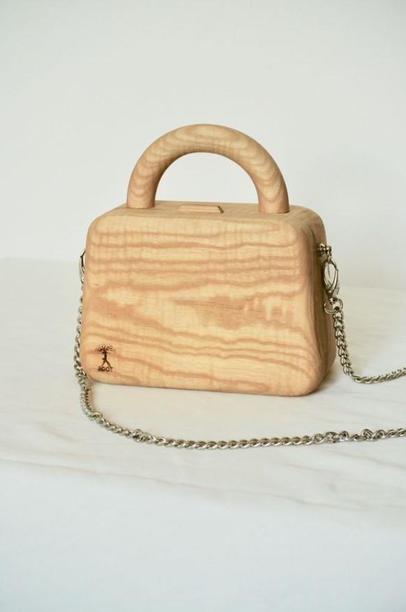 ξύλινο τσαντάκι