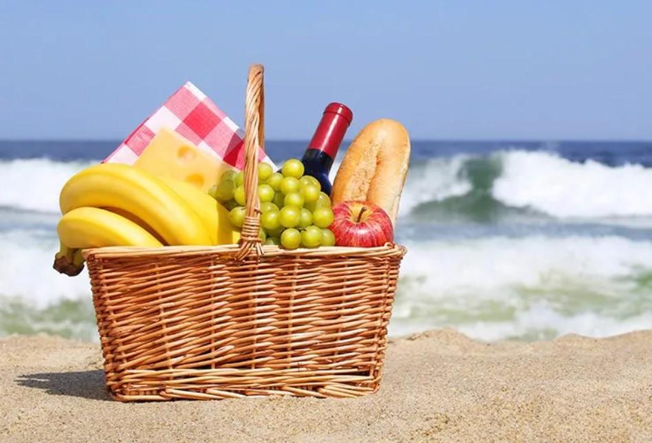 υγειινά σνακ για τη παραλία