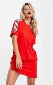 αθλητικό κοντομάνικο φόρεμα
