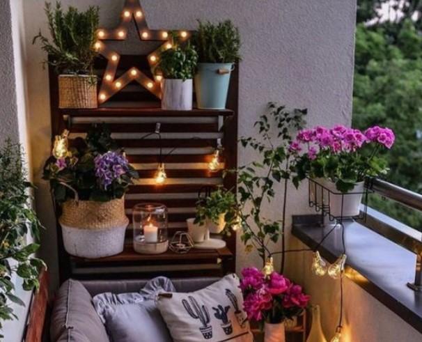 διακοσμητικά για φωτισμό μπαλκόνι