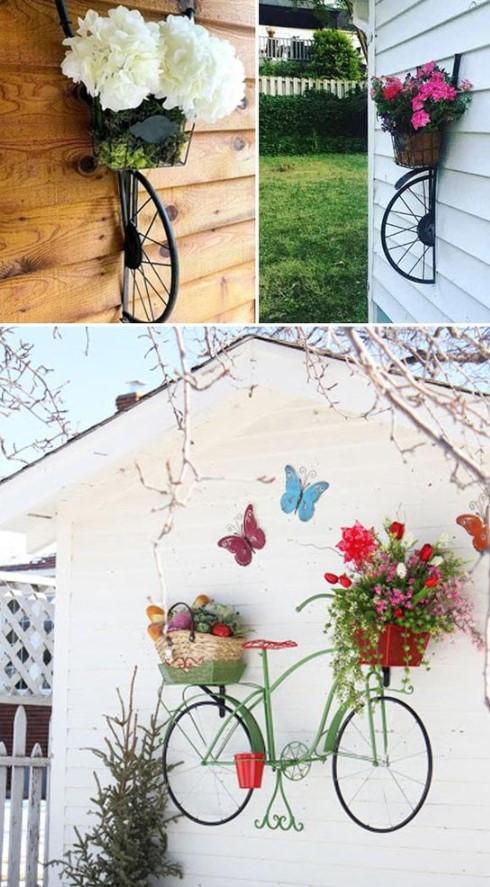 διακοσμητικά τοίχου στο κήπο