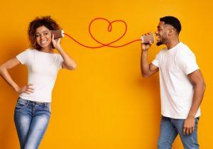 επικοινωνία άντρα και γυναίκας