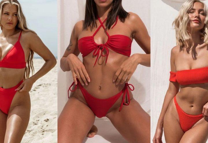 10 Κόκκινα μαγιό bikini που πρέπει να δεις!