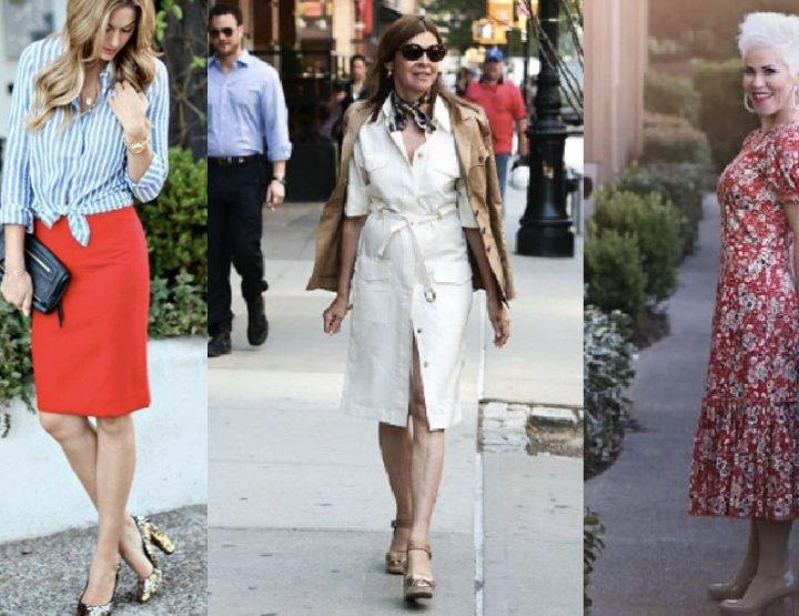 Ποια ρούχα κολακεύουν τις γυναίκες ηλικίας 50+