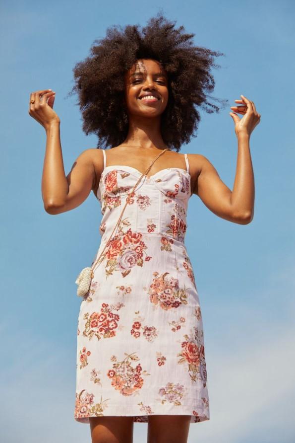 H&M φόρεμα λουλουδια