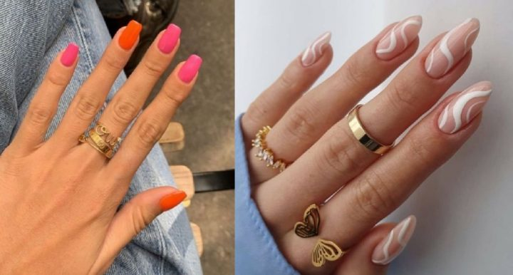 9 Ιδέες για καλοκαιρινά νύχια με διχρωμία!