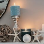 κεριά και αστερίες καλοκαιρινές συνθέσεις κεριών