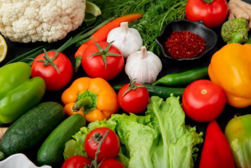 λαχανικά διατροφή σε καύσωνα