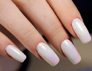λευκά νύχια περλέ όζα