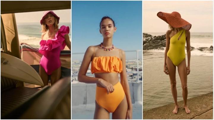 Υπέροχα γυναικεία μαγιό από τα Zara για το 2021