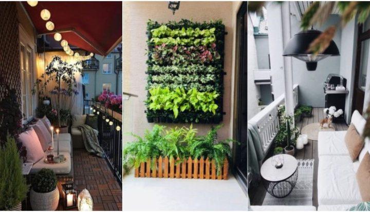5 Τρόποι να διακοσμήσεις ένα μακρόστενο μπαλκόνι!