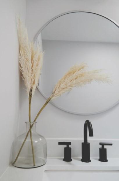 μίνιμαλ βάζο πάμπας grass