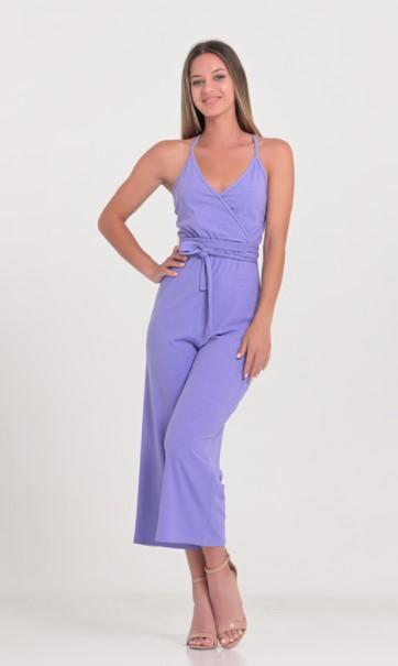 μοβ ολόσωμη φόρμα