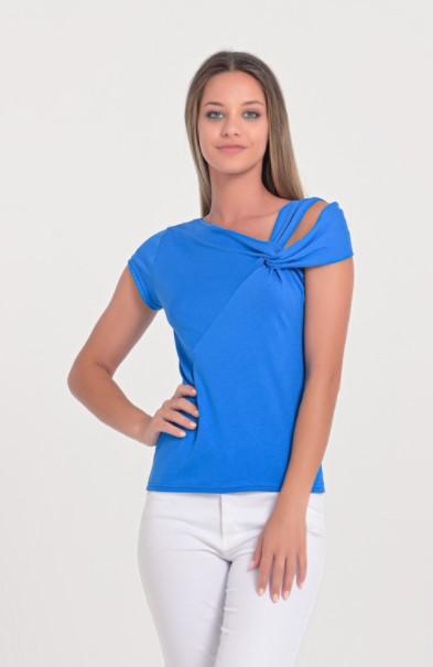 μπλε τοπ ρούχα Paranoia καλοκαίρι 2021