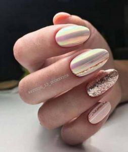 ροζ χρυσό χρώμα νυχιών