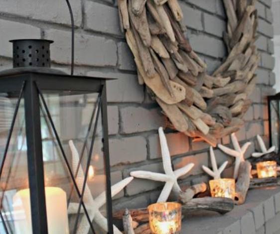 ιδέες διακόσμησης συνθέσεις κεριών