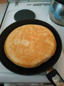 συνταγή ψωμί στο τηγάνι