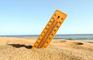 υψηλή θερμοκρασία καύσωνας