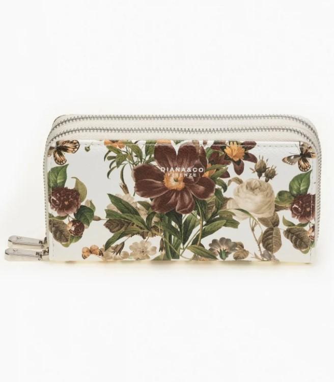 floral γυναικείο πορτοφόλι